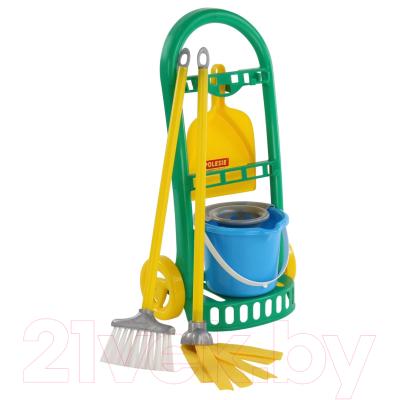 Набор хозяйственный игрушечный Полесье Чистюля-мини №2 / 69832