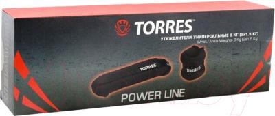 Комплект утяжелителей Torres PL110183 (2x1.5кг)