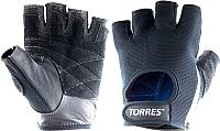 Перчатки для фитнеса Torres PL6047L (L, черный) -