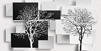 Фотообои Citydecor Дерево 3D Инь-янь (500x254) -