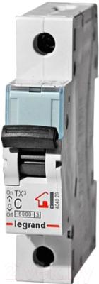 Выключатель автоматический Legrand TX3 1P C 16A 6кА 1M / 404028