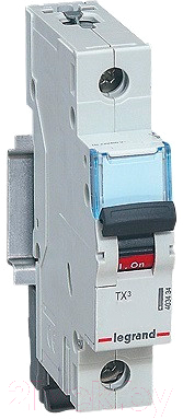 Выключатель автоматический Legrand TX3 1P C 25A 6кА 1M / 404030