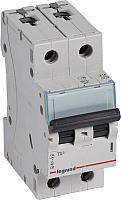 Выключатель автоматический Legrand TX3 2P C 40A 6кА 2M / 404046 -