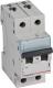 Выключатель автоматический Legrand TX3 2P C 50A 6кА 2M / 404047 -