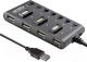 USB-хаб Ginzzu GR-487UB -