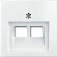 Лицевая панель для розетки ABB Basic 55 1753-0-0095 (белый) -