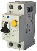 Дифференциальный автомат Eaton PFL6 1P+N 32А 30мА С 6кА 2М / 286470 -