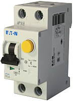 Дифференциальный автомат Eaton PFL4 1Р+N 25А 30мА С 4.5кА 2М / 293300 -