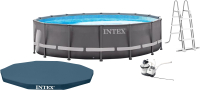 Каркасный бассейн Intex Ultra Frame / 26326NP (488x122) -