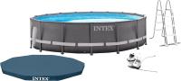 Каркасный бассейн Intex Ultra Frame / 26334NP (610x122) -
