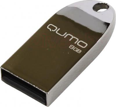 Usb flash накопитель Qumo Cosmos 8GB (Silver) - общий вид