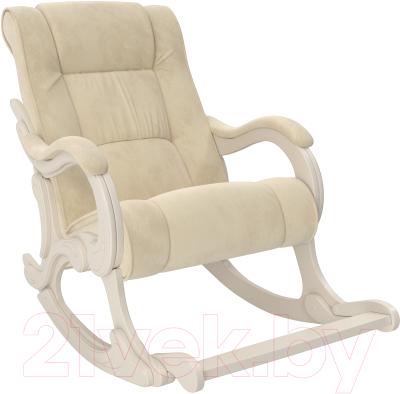 Кресло-качалка Импэкс 77 (дуб шампань/Verona Vanilla)