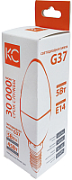 Лампа КС G37 5W E14 4000K / 9501773 -