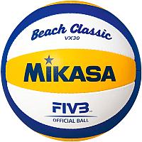 Мяч волейбольный Mikasa VX30 Beach Classic -