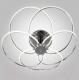 Люстра Евросвет Infinity 90039/5 (хром) -