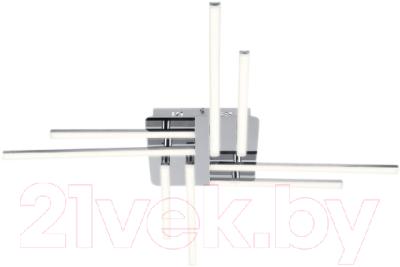 Люстра Евросвет Vector 90040/8 (хром)