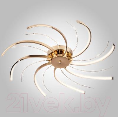 Люстра Евросвет Twist 90054/8 (золото)