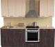 Готовая кухня Хоум Лайн Луиза Люкс 2.2 (флитвуд серая лава/флитвуд белый) -