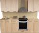 Готовая кухня Хоум Лайн Луиза Люкс 2.2 (флитвуд шампань/флитвуд белый) -