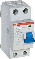 Устройство защитного отключения ABB F202 2P 63A 30mA 6kА 2М / 2CSF202001R1630 -