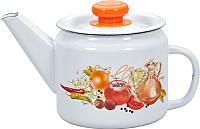 Чайник Лысьвенские эмали Итальянская кухня С-2707 П2/4Рч -