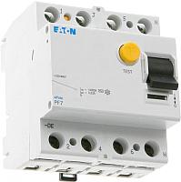 Устройство защитного отключения Eaton PF7 4Р 80А 300мА 10кА 4М / 263596 -