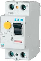 Устройство защитного отключения Eaton PF6 2P 25A 100мА 2М / 286493 -