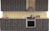Готовая кухня Хоум Лайн Луиза Люкс 3.0 (сосна пасадена) -