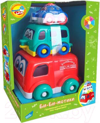 Развивающая игрушка Mommy Love Машинки Би-би-мотики / 618