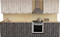 Готовая кухня Хоум Лайн Луиза Люкс 3.0 (сосна пасадена/сосна касцина) -