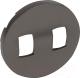 Лицевая панель для выключателя Legrand Celiane 64905 (графитовый) -
