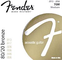 Струны для акустической гитары Fender 70M 13-56 -