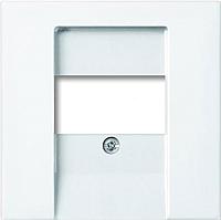 Лицевая панель для розетки ABB Basic 55 1724-0-4275 (белый) -