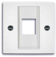 Лицевая панель для розетки ABB Basic 55 1753-0-0213 (белый) -