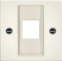 Лицевая панель для розетки ABB Basic 55 1753-0-0215 (шале-белый) -