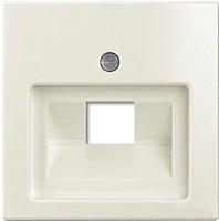 Лицевая панель для розетки ABB Basic 55 1753-0-0210 (шале-белый) -