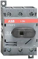 Выключатель нагрузки ABB OT63F3 63А 3P 3M / 1SCA105332R1001 -