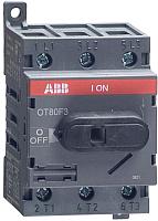 Выключатель нагрузки ABB OT80F3 80А 3P 3M / 1SCA105798R1001 -