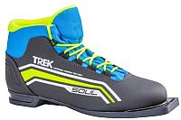 Ботинки для беговых лыж TREK Soul 6 NN75 (черный/лайм, р-р 41) -