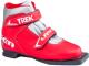Ботинки для беговых лыж TREK Laser 3 (красный/серебристый, р-р 36) -