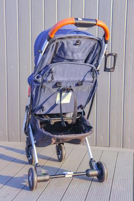 Детская прогулочная коляска Sundays Baby S600 Plus (белая база, темно-красный)