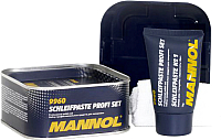 Полироль для кузова Mannol Schleifpaste Profi Set / 9960 (325г+75г) -