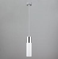 Потолочный светильник Евросвет Double Topper 50135/1 (хром/белый) -