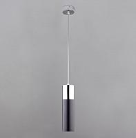 Потолочный светильник Евросвет Double Topper 50135/1 (хром/черный) -
