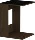Приставной столик Импэкс Leset 731 02.01 (венге/черный) -