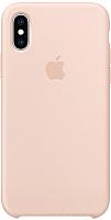 Чехол-накладка Apple Silicone Case для iPhone XS Pink Sand / MTF82 -