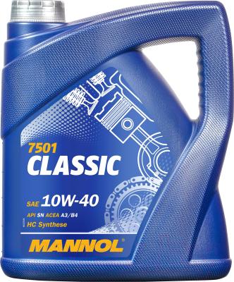 Моторное масло Mannol Classic 10W40 SN/CF / MN7501-4