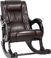 Кресло-качалка Импэкс 77 (венге/Oregon Perlamutr 120) -