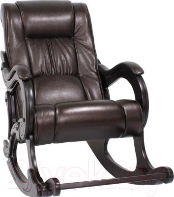 Кресло-качалка Импэкс 77 (венге/Oregon Perlamutr 120)