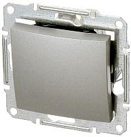 Выключатель ABB Basic 55 1012-0-2142-1 (алюминий) -